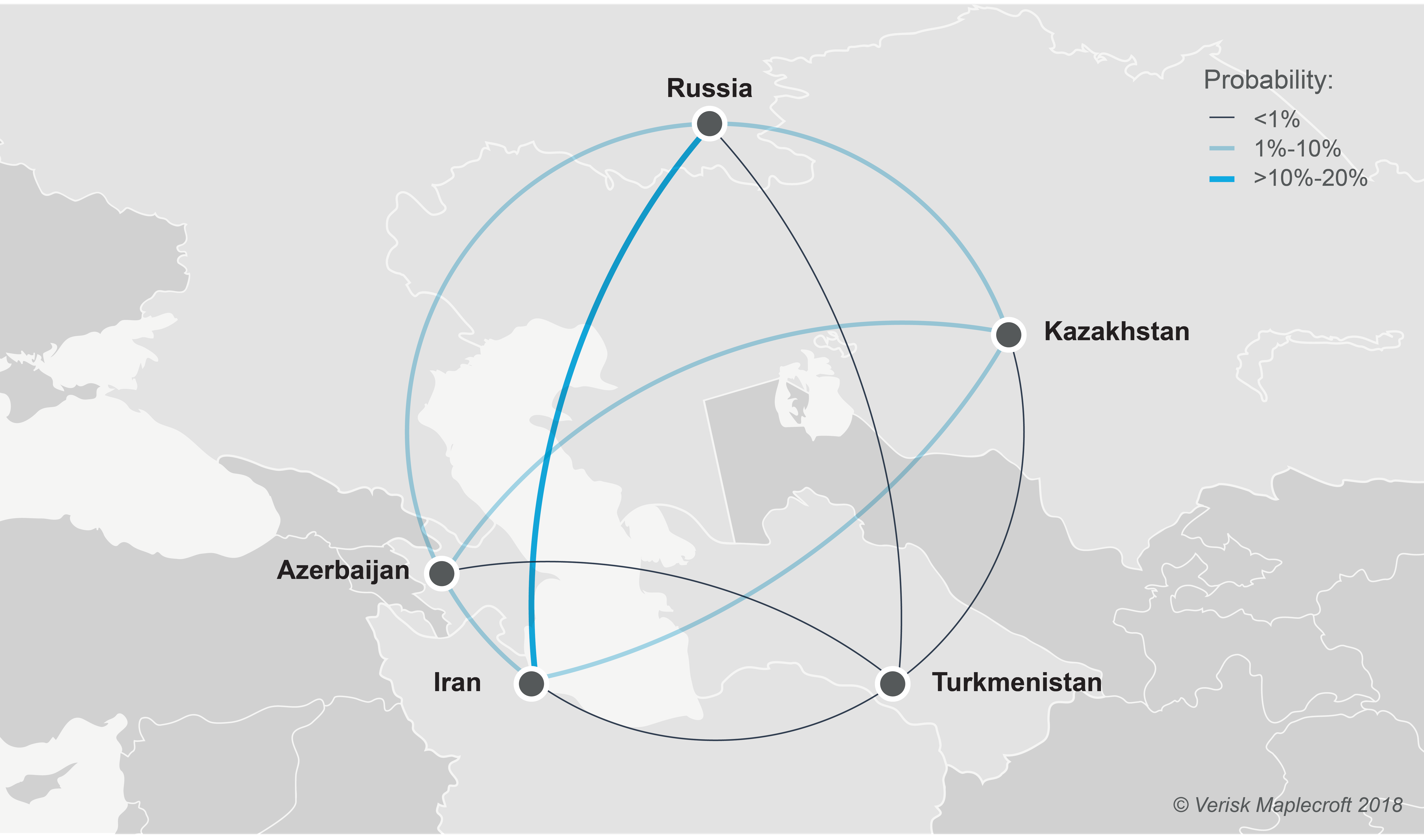 The caspian sea - The risk of interstate tensions...