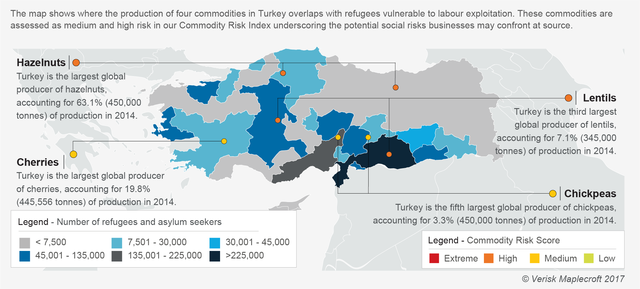 Turkey's refugee population and commodity production risks_HRO 2017 mandatory supply chain reporting