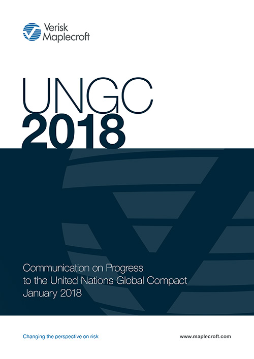 Corporate Social Responsibility: Communication on Progress to UNGC